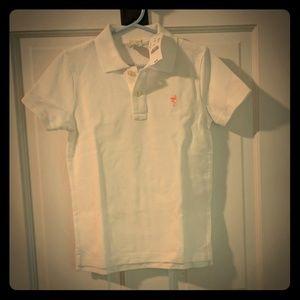 Crewcuts white polo shirt